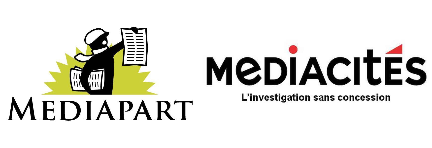 Logo Mediapart et Médiacitées